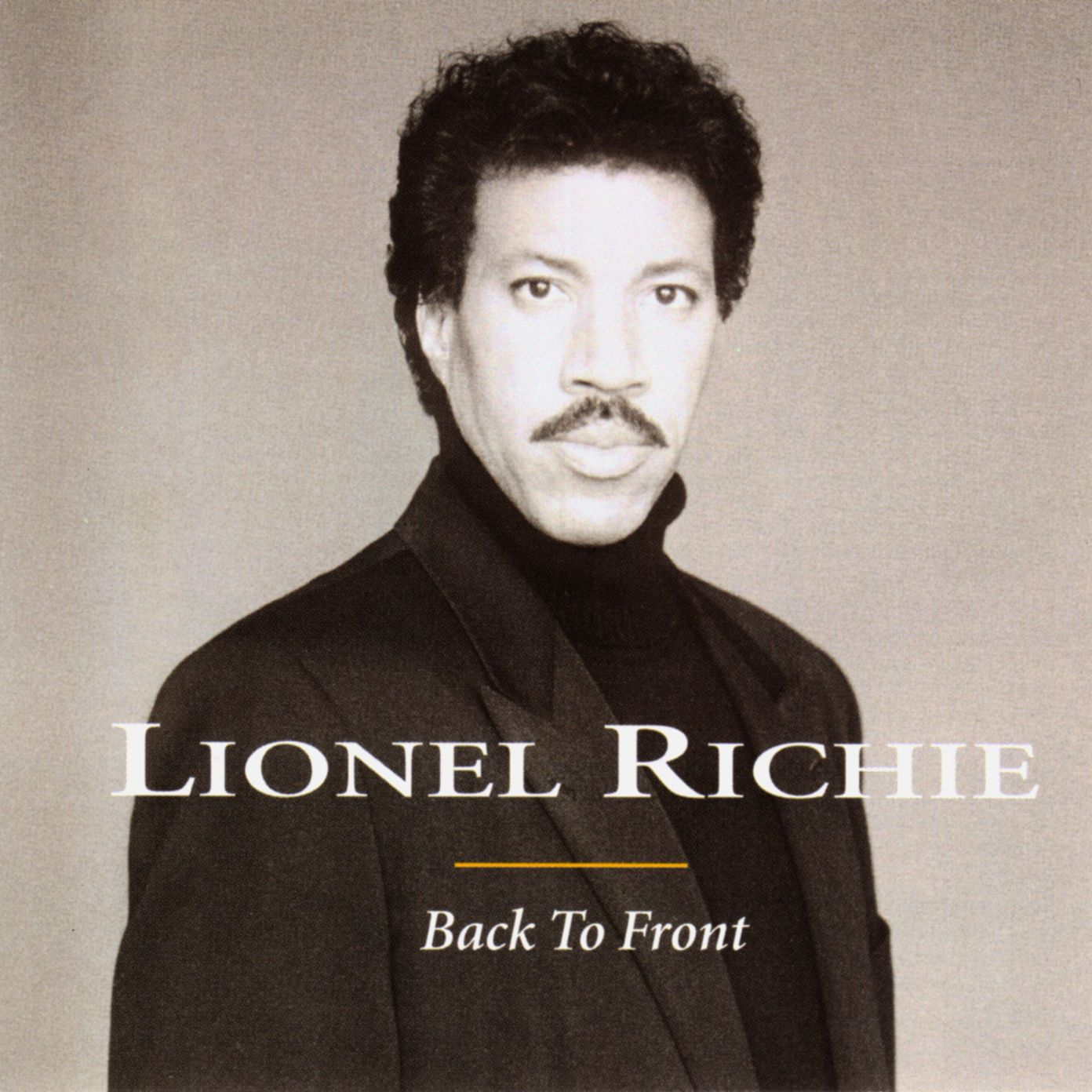 Lionel Richie - Back To Front album cover