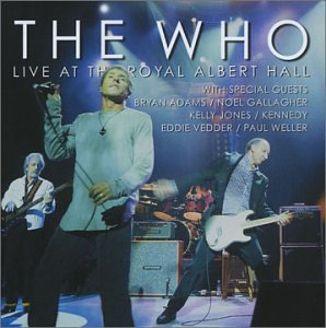 The Who - Live At The Royal Albert Hall album cover