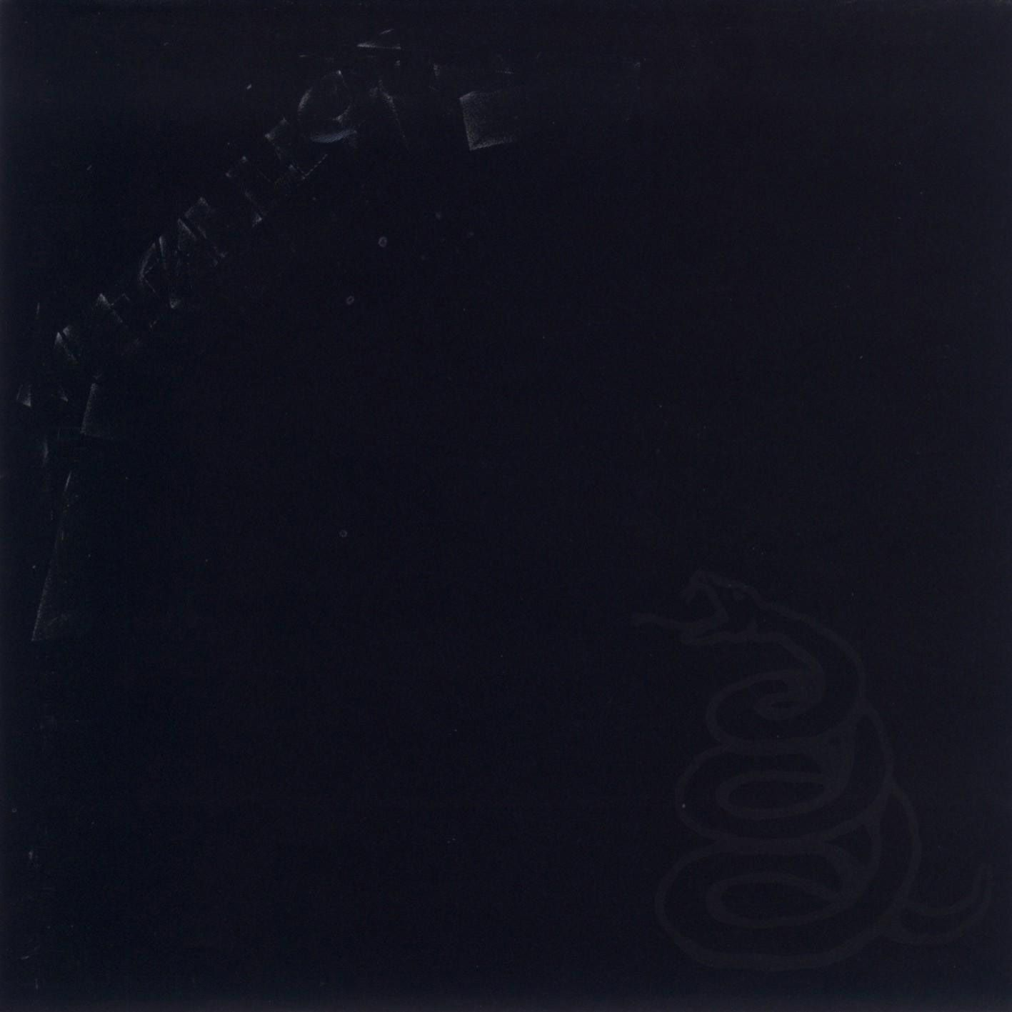 Metallica - Metallica (The Black Album) album cover