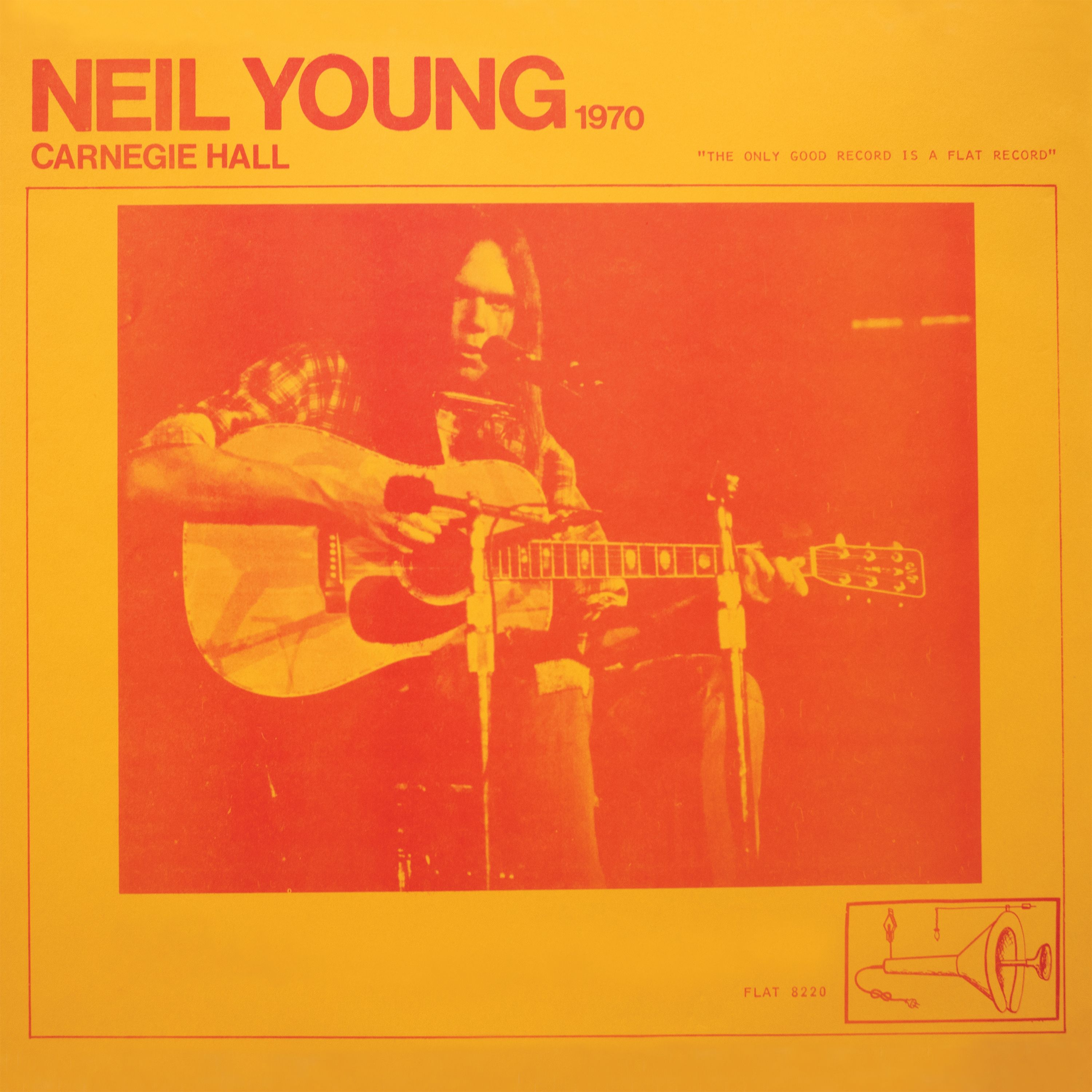 Neil Young - Carnegie Hall 1970 album cover
