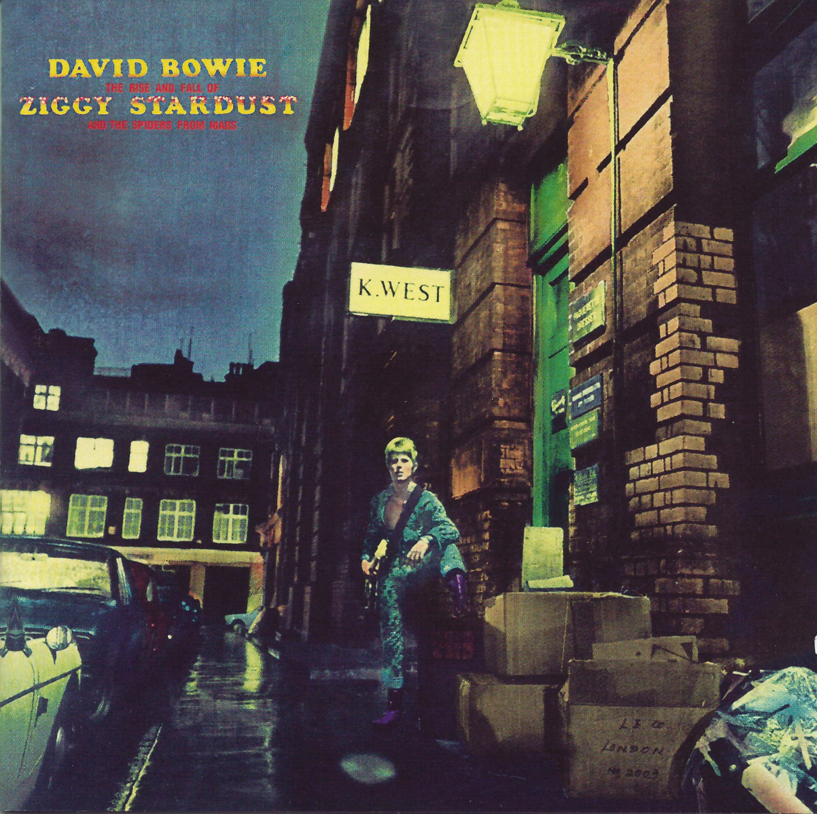 David Bowie - The Rise And Fall Of Ziggy Stardust album cover
