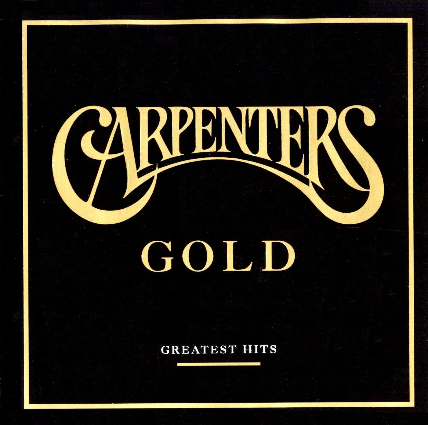 The Carpenters - Gold - Greatest Hits album cover