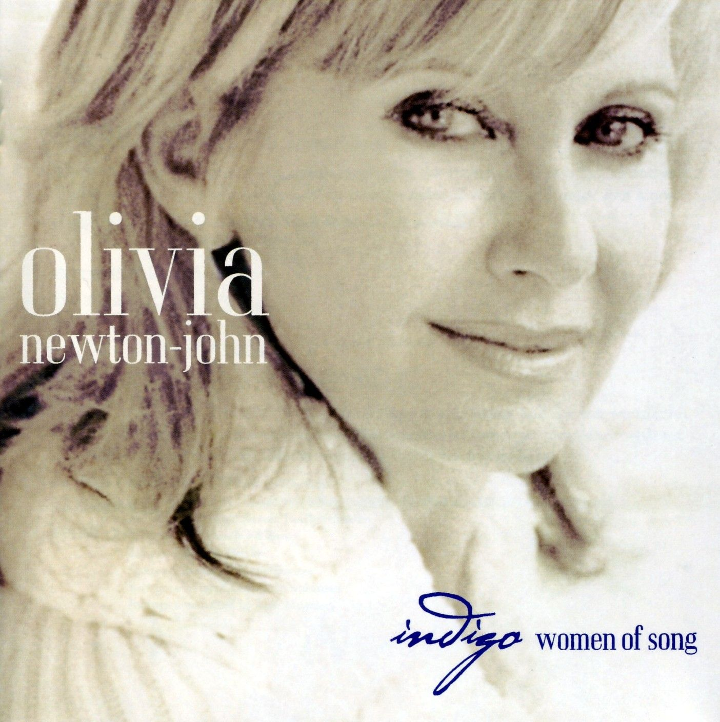 Olivia Newton-John - Indigo - Women Of Song album cover