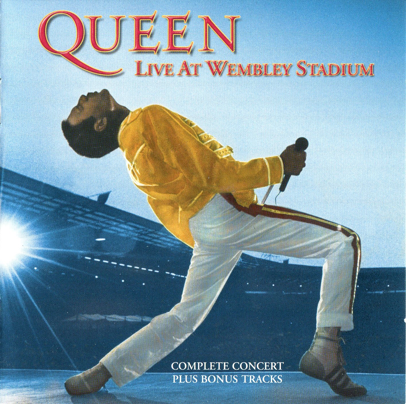 Queen - Live At Wembley Stadium '86 album cover