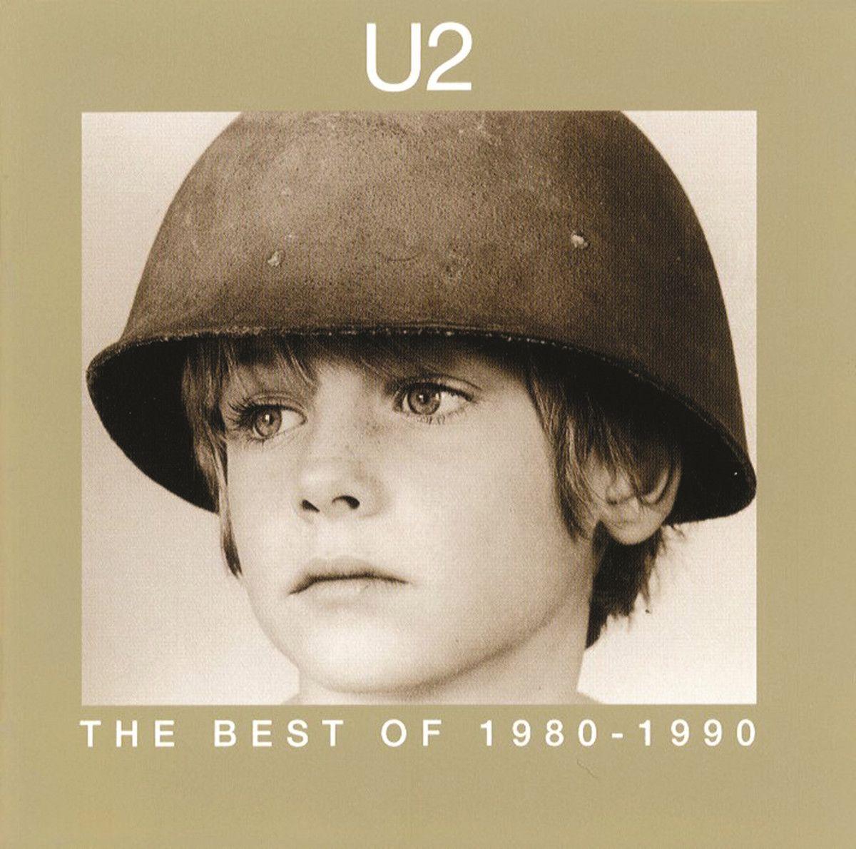 U2 - The Best Of 1980-1990 album cover