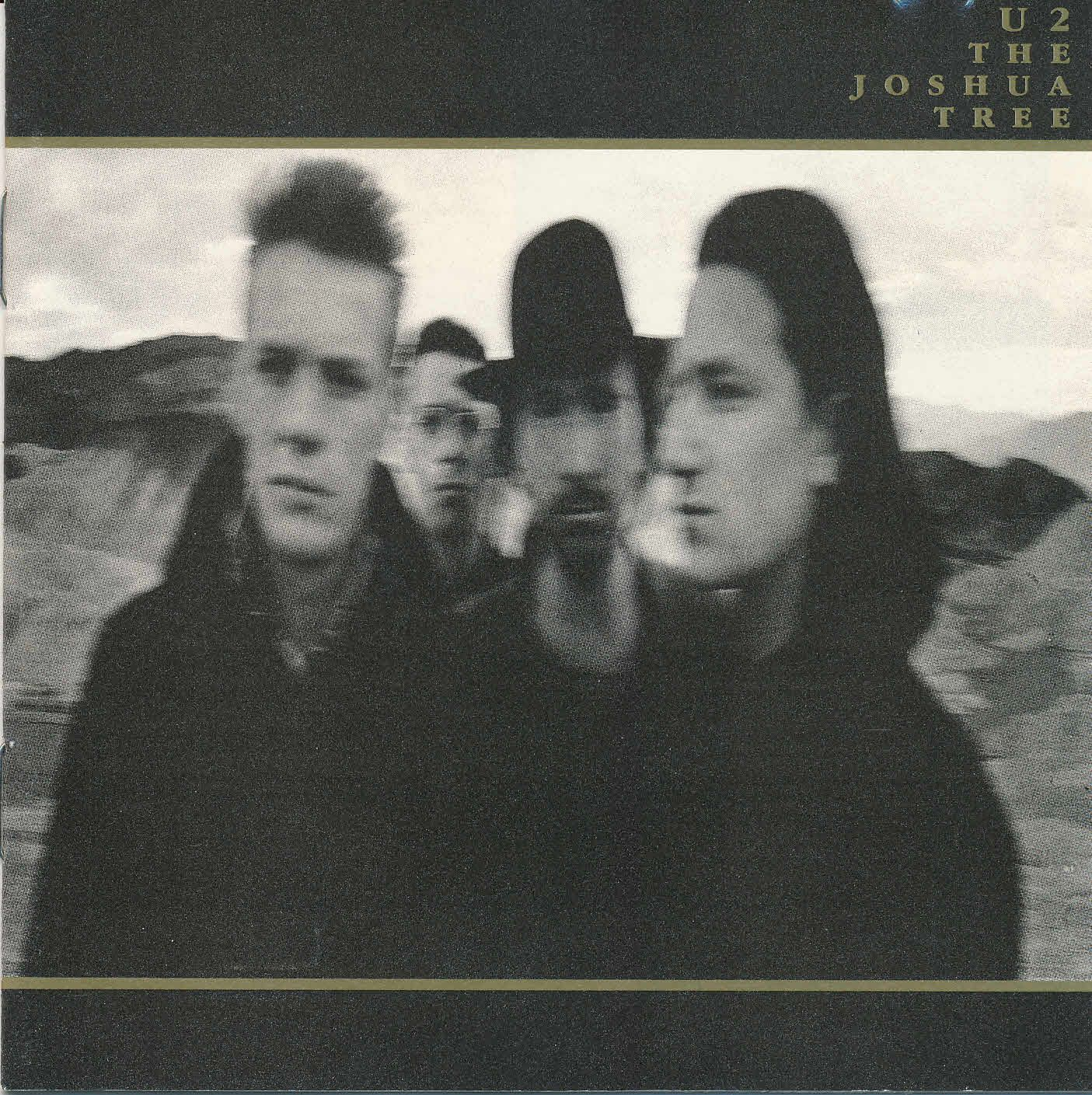 U2 - The Joshua Tree  album cover