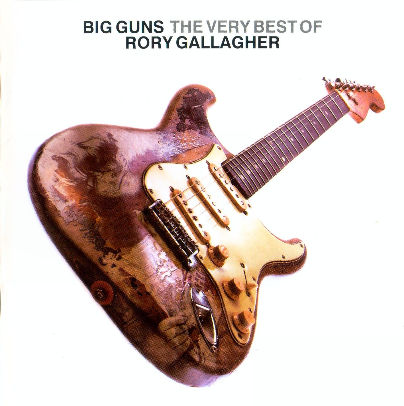 Rory Gallagher - Big Guns - The Very Best Of Rory Gallagher album cover