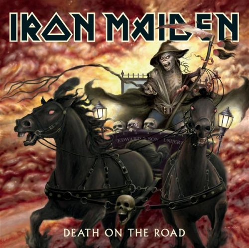 Iron Maiden - Death On The Road album cover
