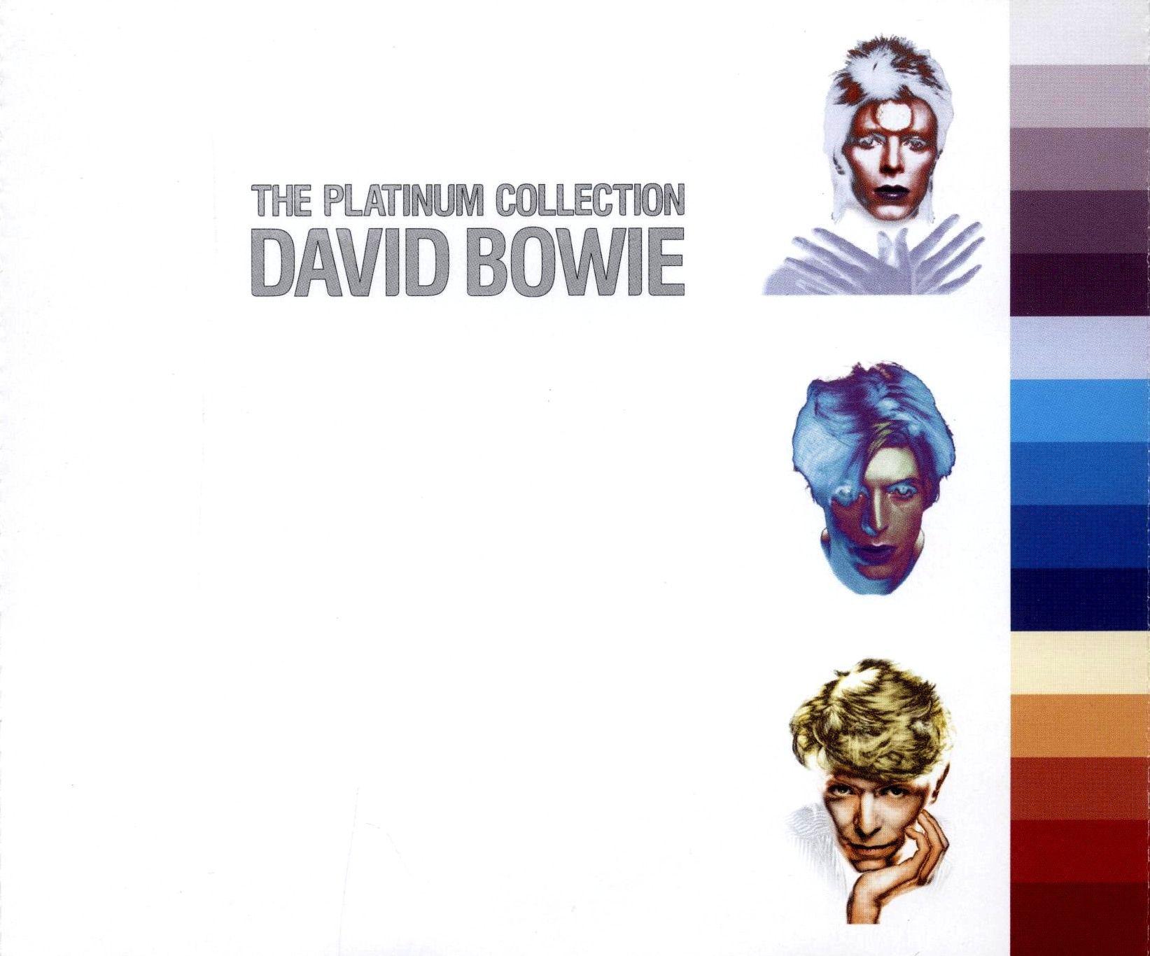 David Bowie - The Platinum Collection album cover
