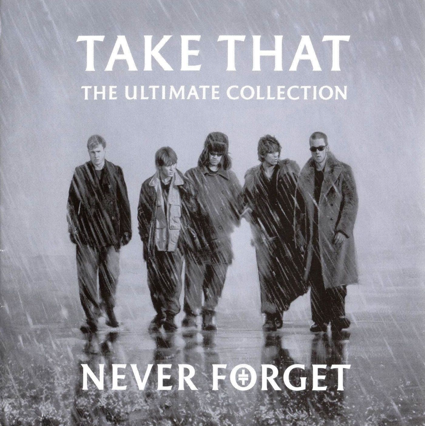 Take That - Never Forget - The Ultimate Collection album cover