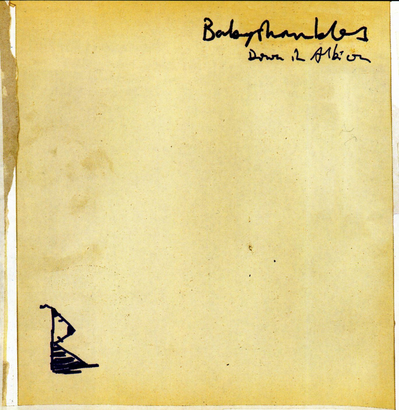Babyshambles - Down In Albion album cover