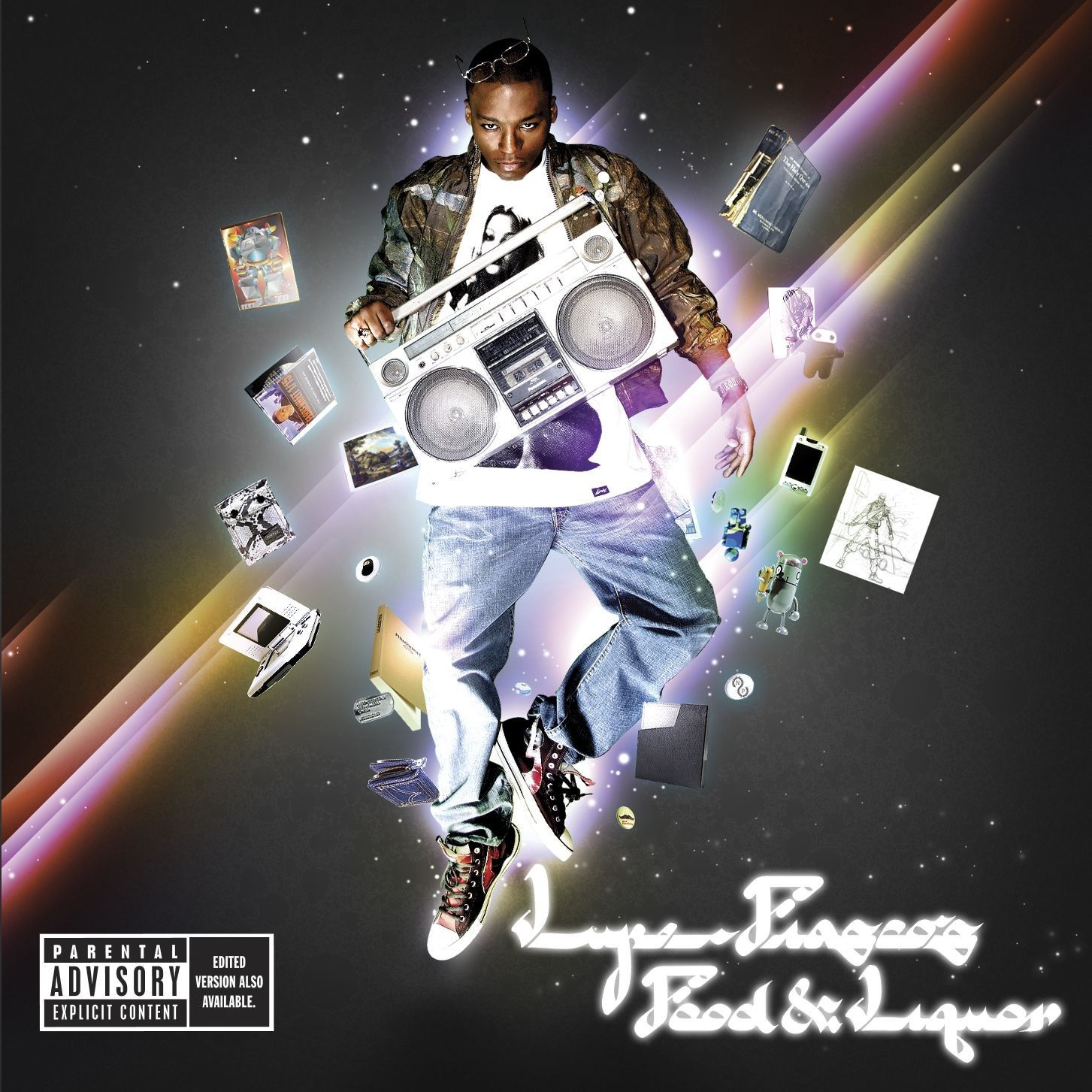 Lupe Fiasco - Food & Liquor album cover