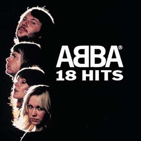 ABBA - 18 Hits album cover