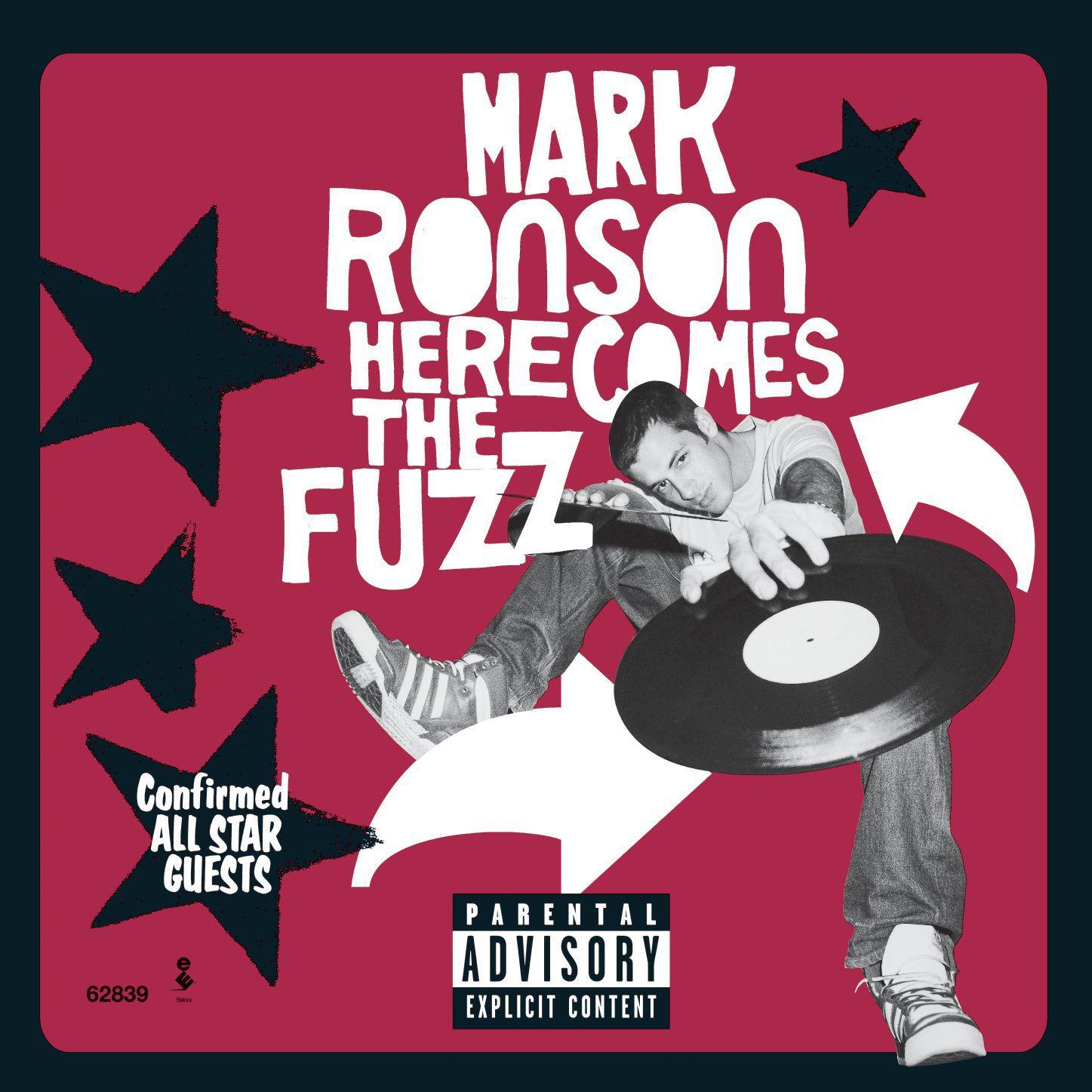 Mark Ronson - Here Comes The Fuzz album cover