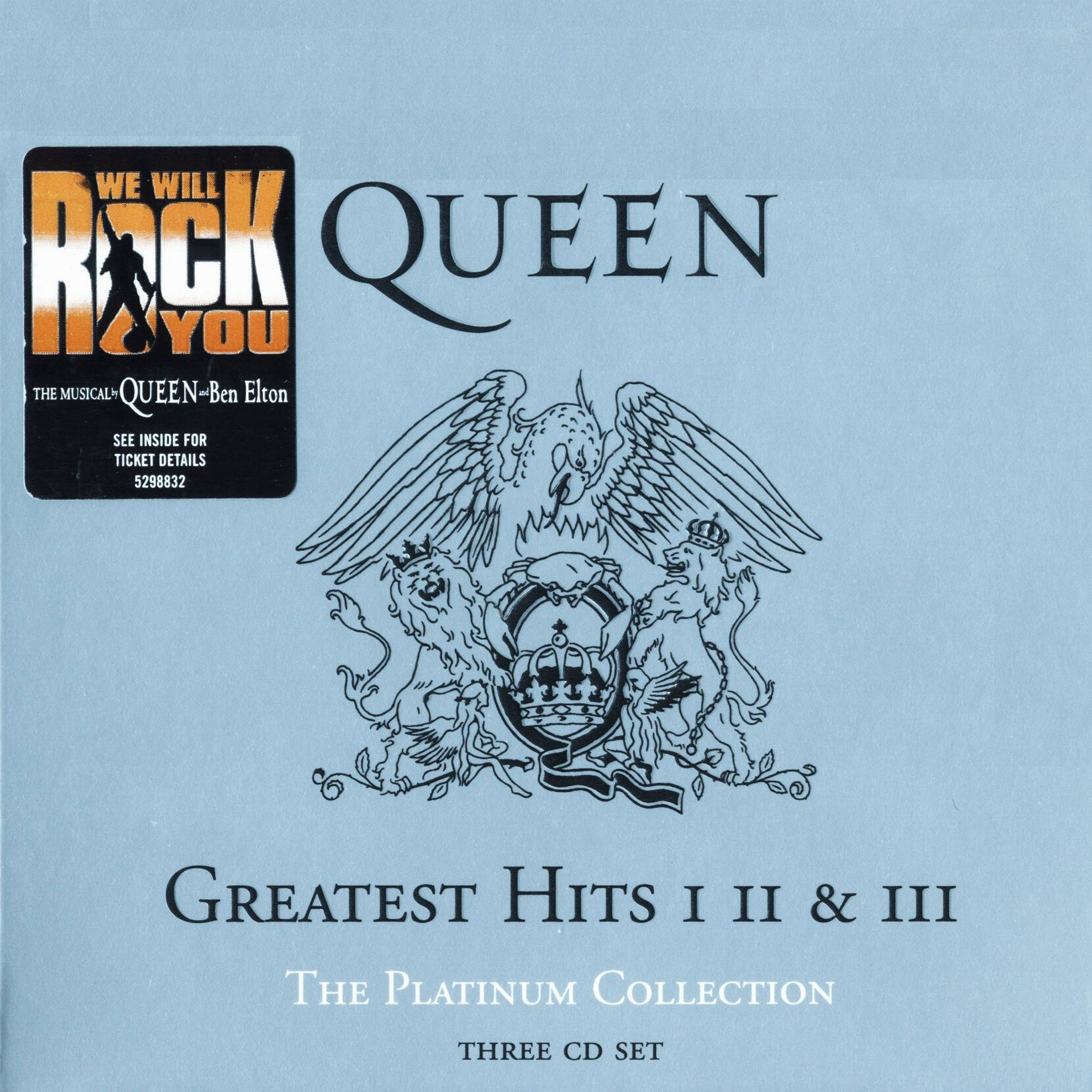 Queen - The Platinum Collection: Greatest Hits I, II & III album cover