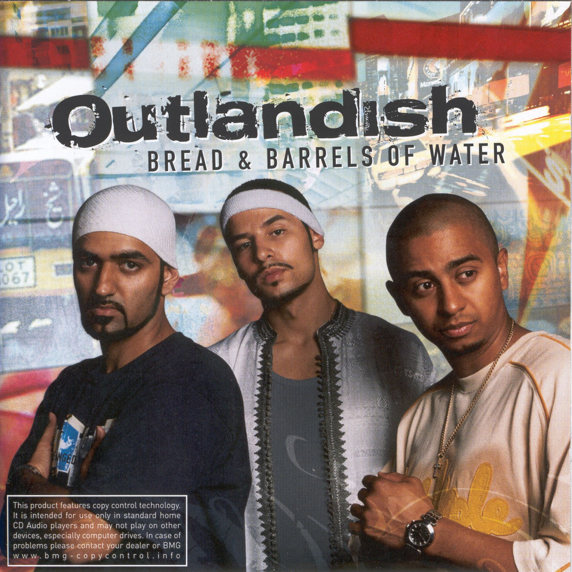 Outlandish - Bread & Barrels Of Water album cover