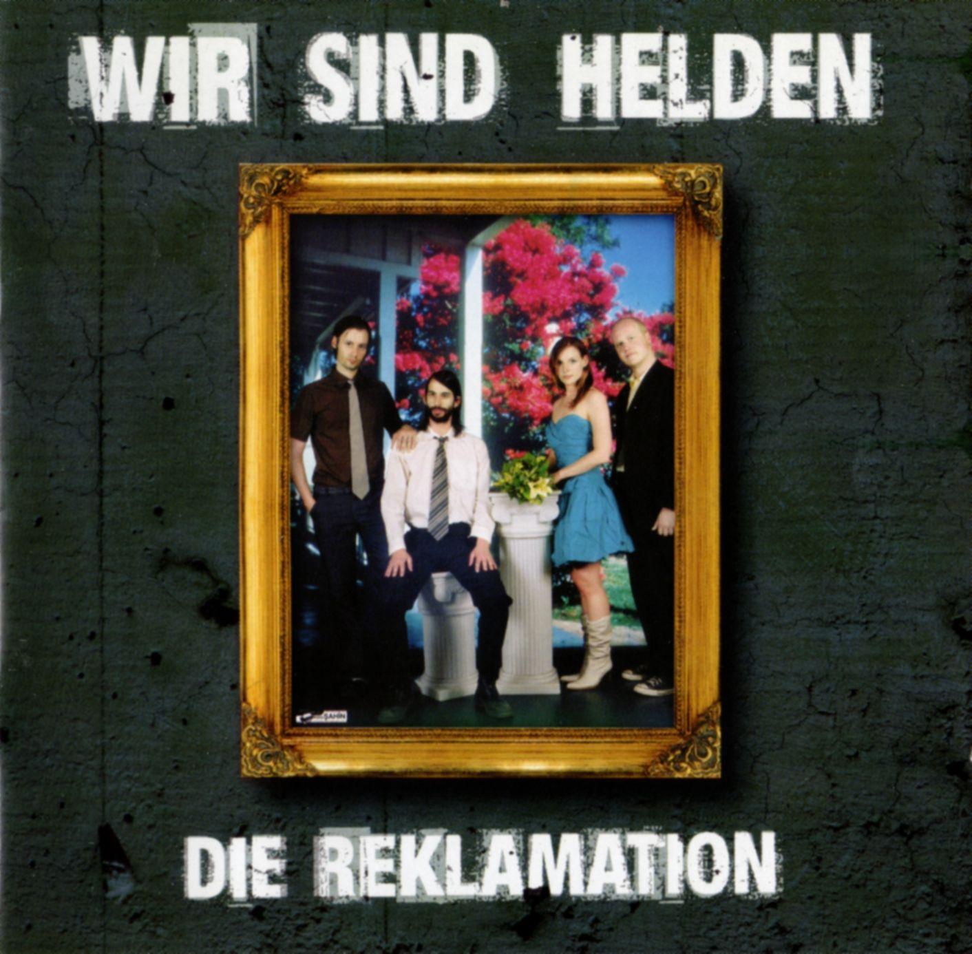 Wir Sind Helden - Die Reklamation album cover