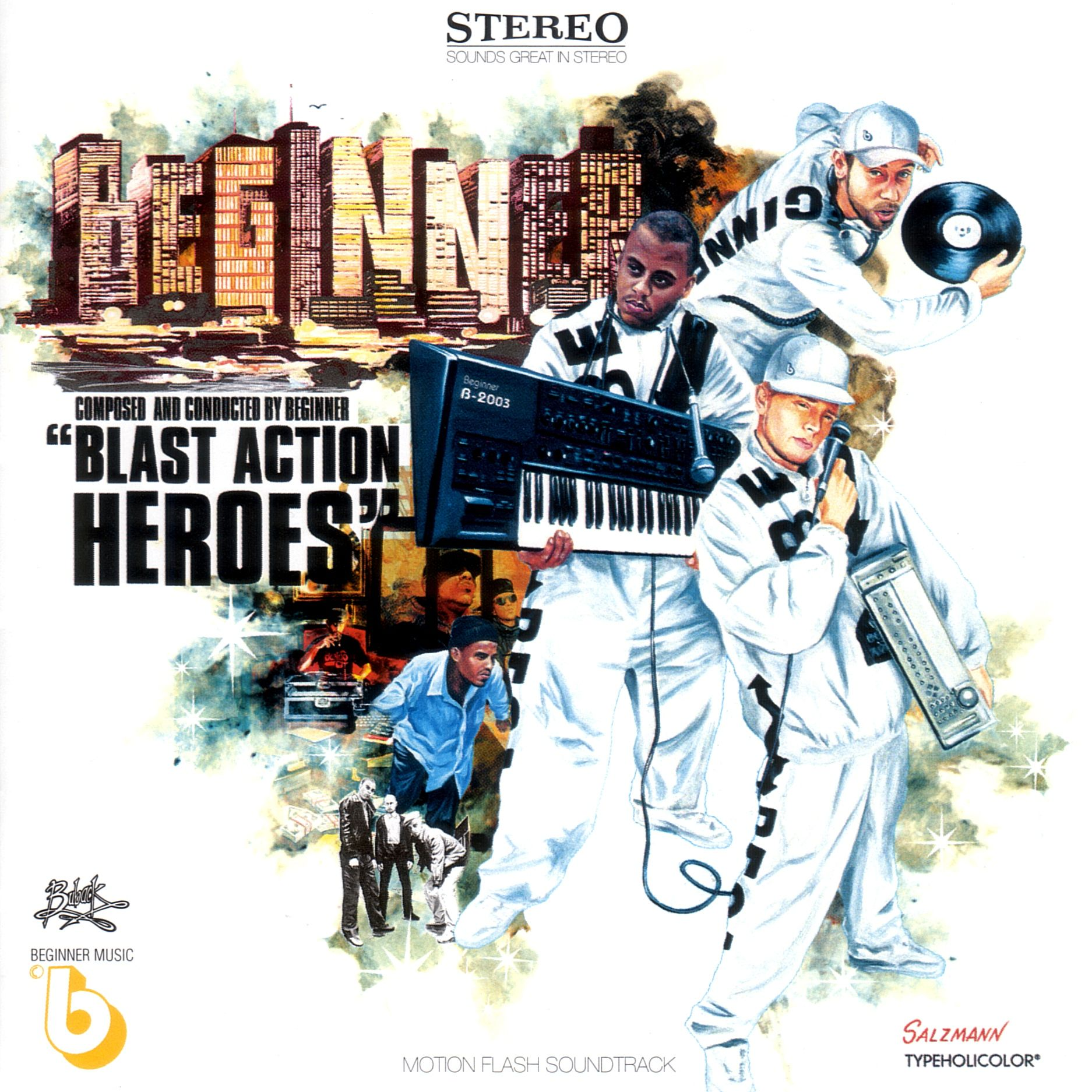 Beginner - Blast Action Heroes album cover