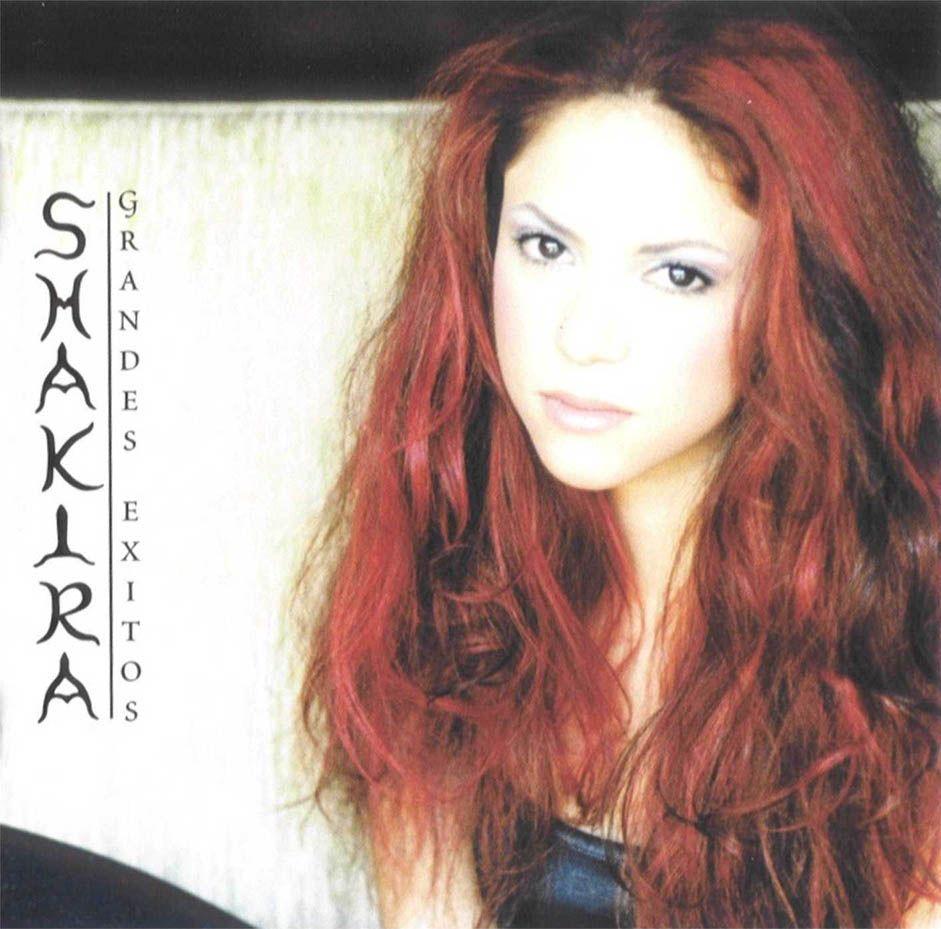 Shakira - Grandes Exitos (spanish Best Of) album cover