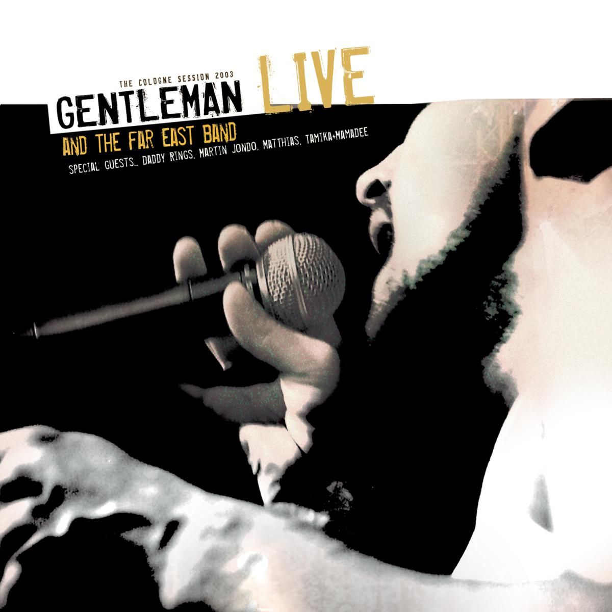 Gentleman - Gentleman & The Far East Band - Live album cover