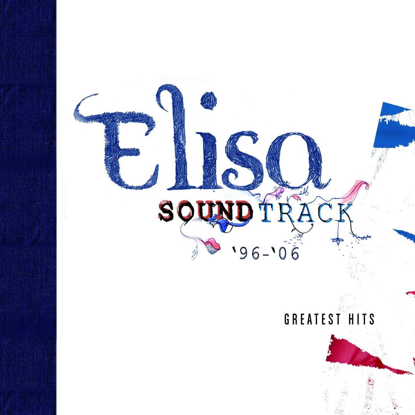 Elisa - Soundtrack '96 - '06 album cover