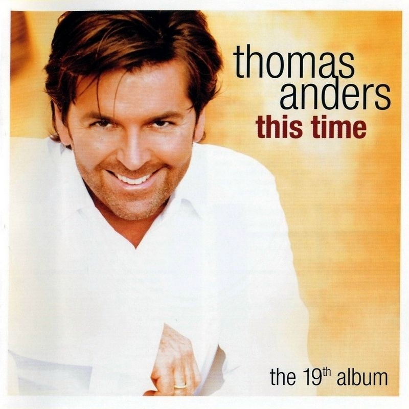 Thomas Anders - This Time album cover