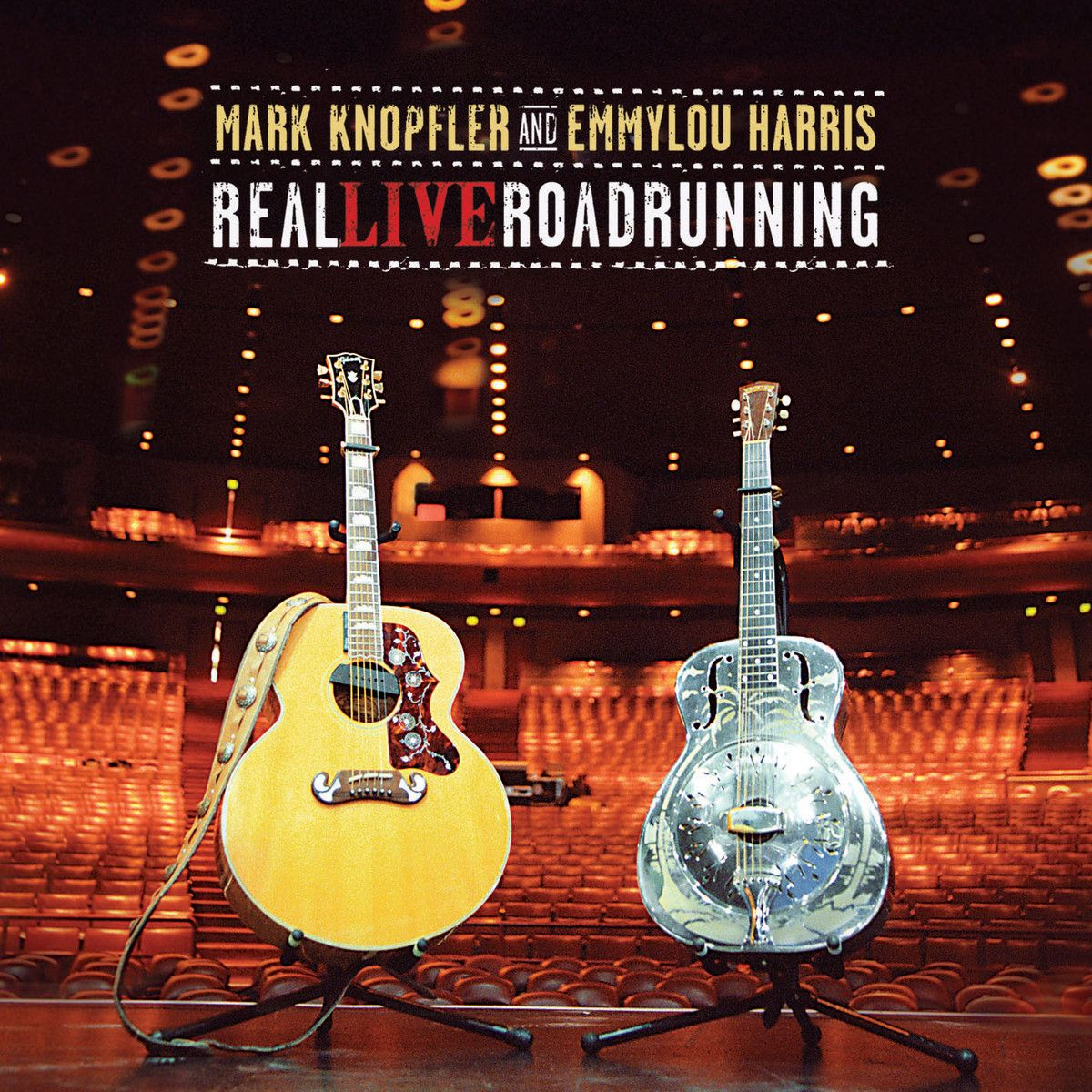 Mark Knopfler - Real Live Roadrunning album cover