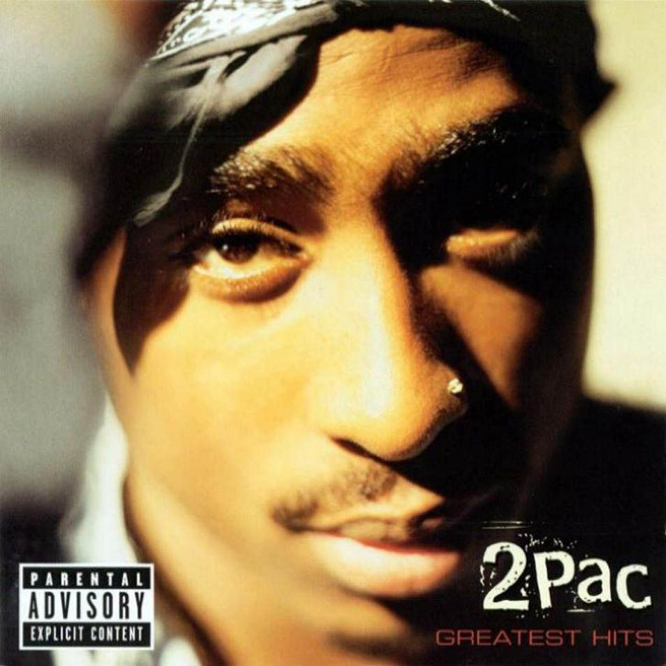 2pac - Greatest Hits album cover