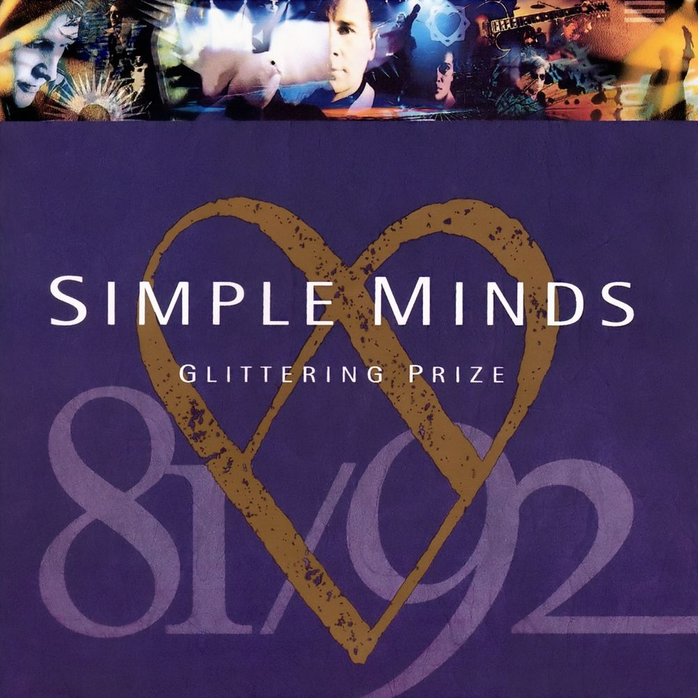 Simple Minds - Glittering Price album cover