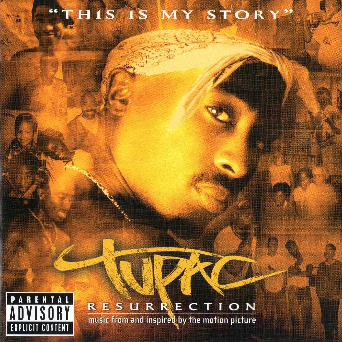 2pac - Resurrection album cover