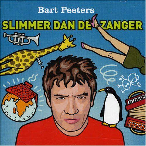 Bart Peeters - Slimmer Dan De Zanger album cover