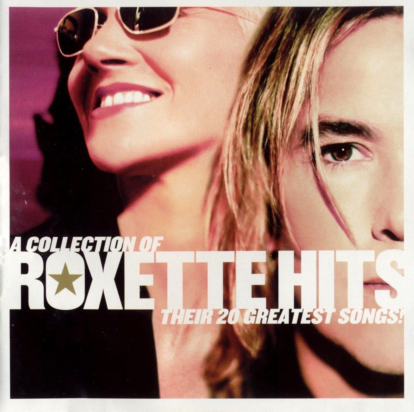 Roxette - A Collection Of Roxette Hits album cover