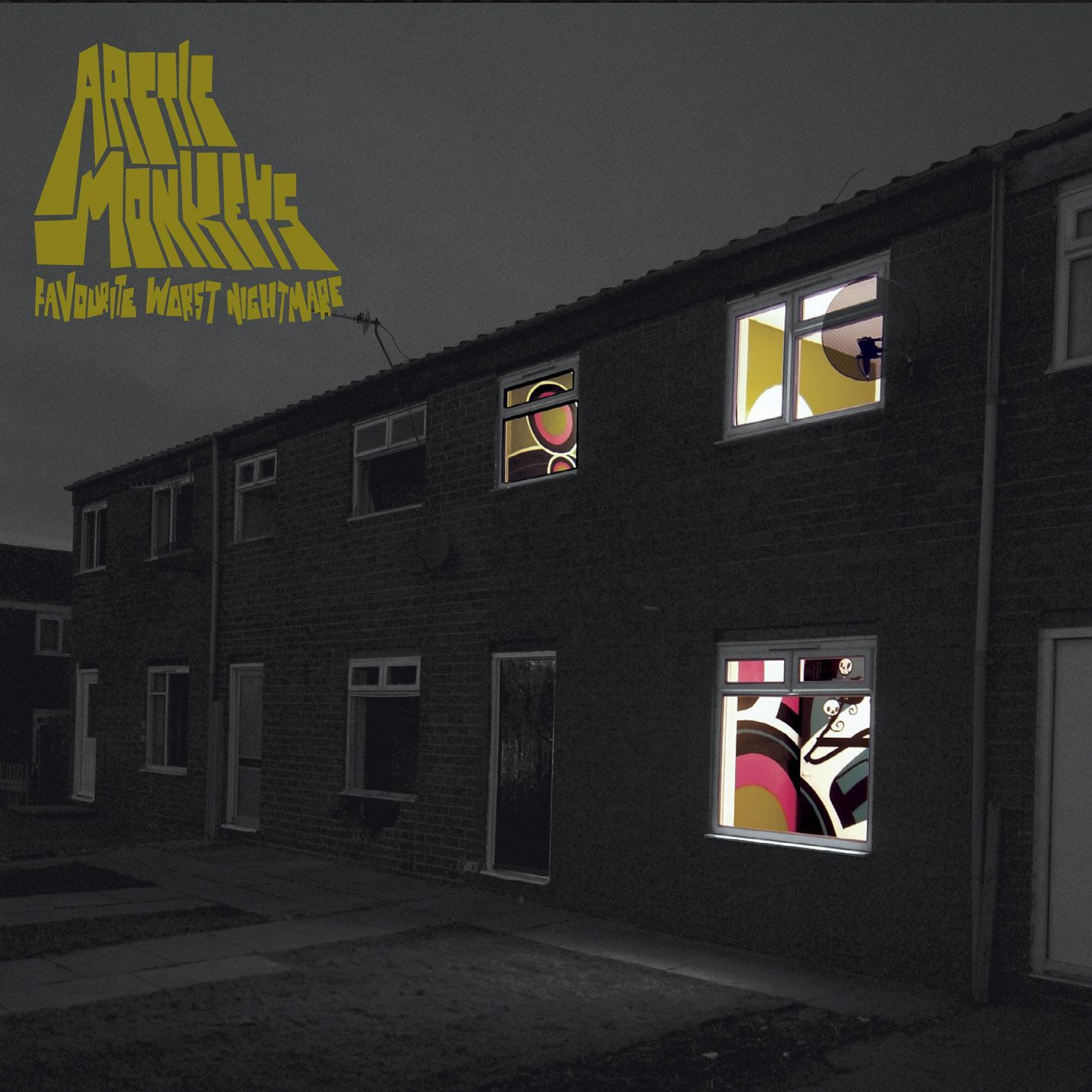 Arctic Monkeys - Favourite Worst Nightmare album cover