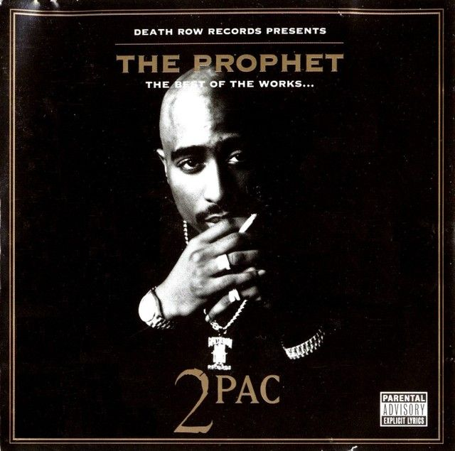 2pac - The Prophet The Best Of The Works album cover