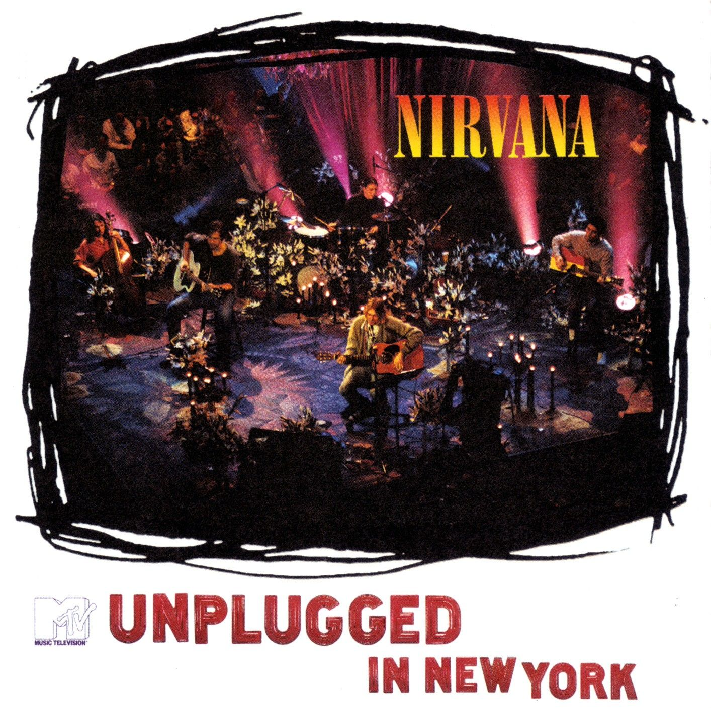 Nirvana - Unplugged In New York album cover