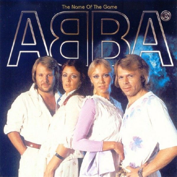 ABBA - The Name Of The Game album cover