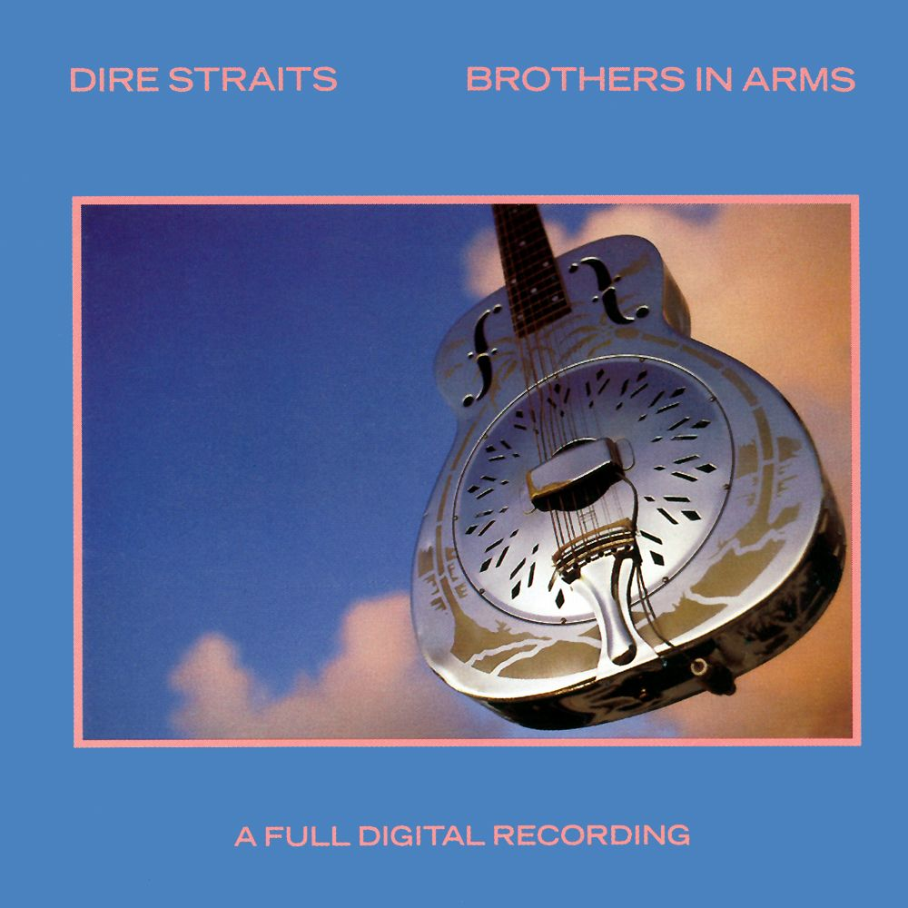 Dire Straits - Brothers In Arms album cover