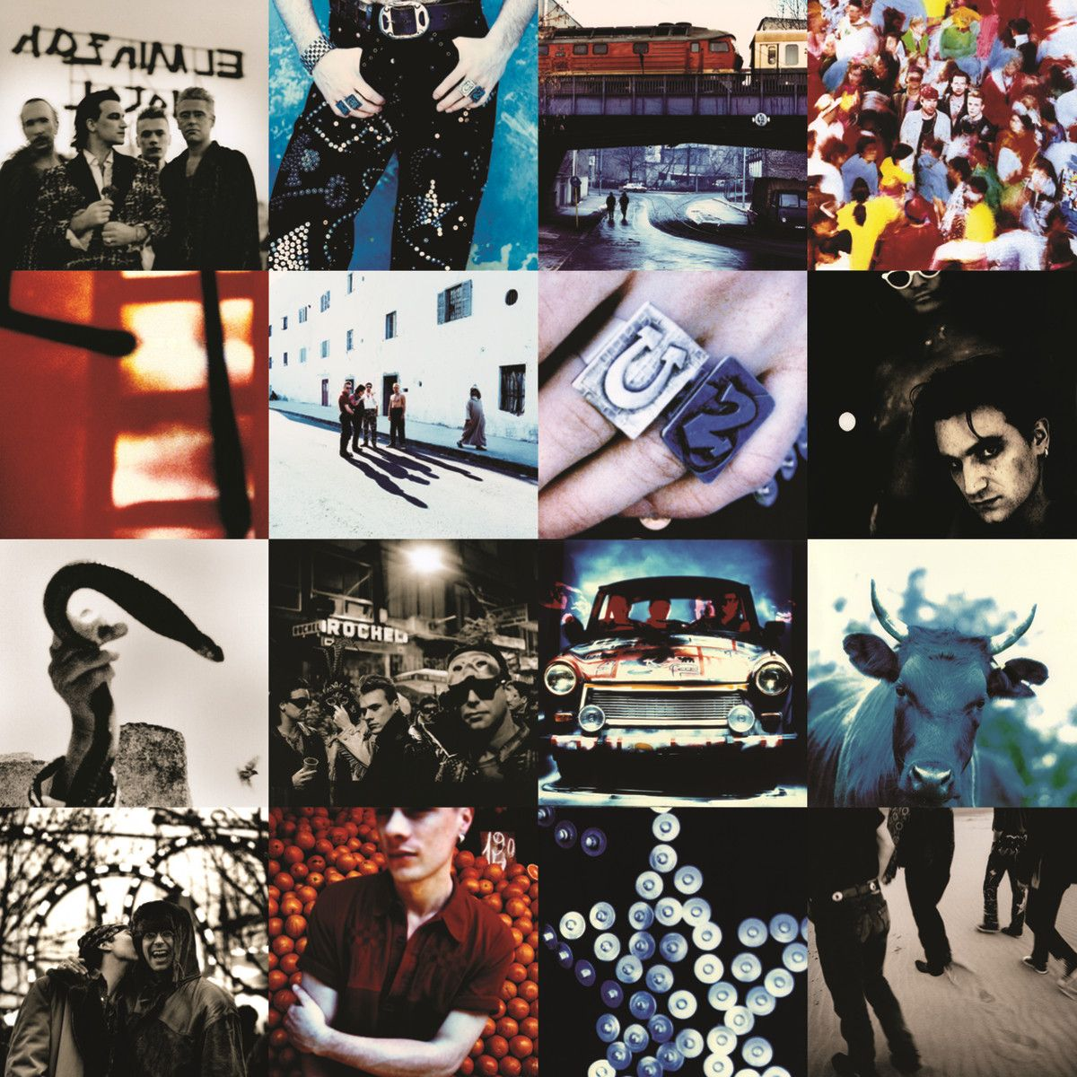 U2 - Achtung Baby (deluxe edition) album cover