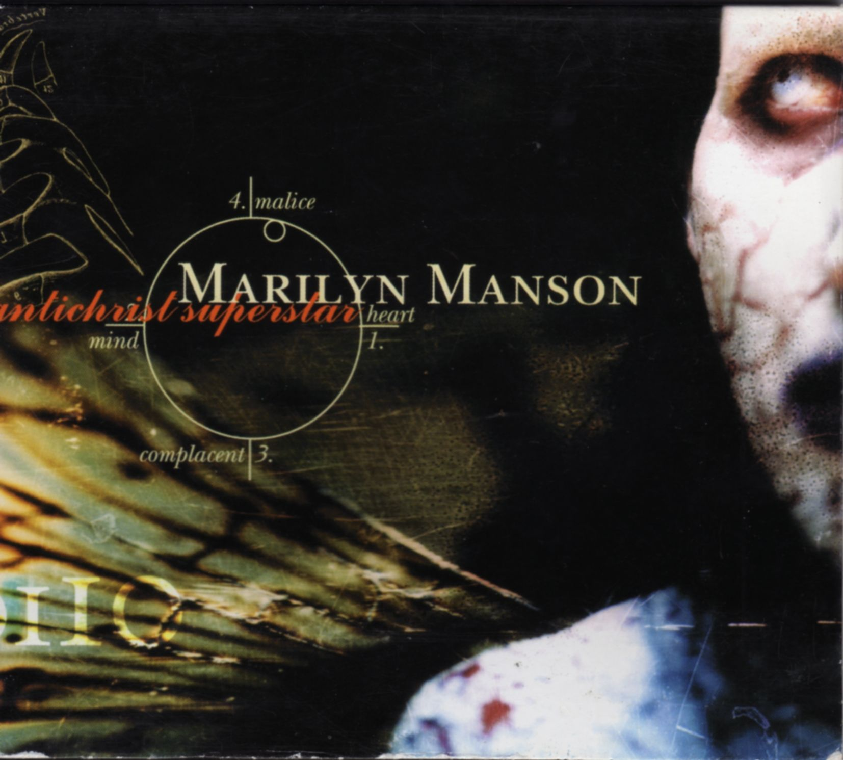 Marilyn Manson - Antichrist Superstar album cover