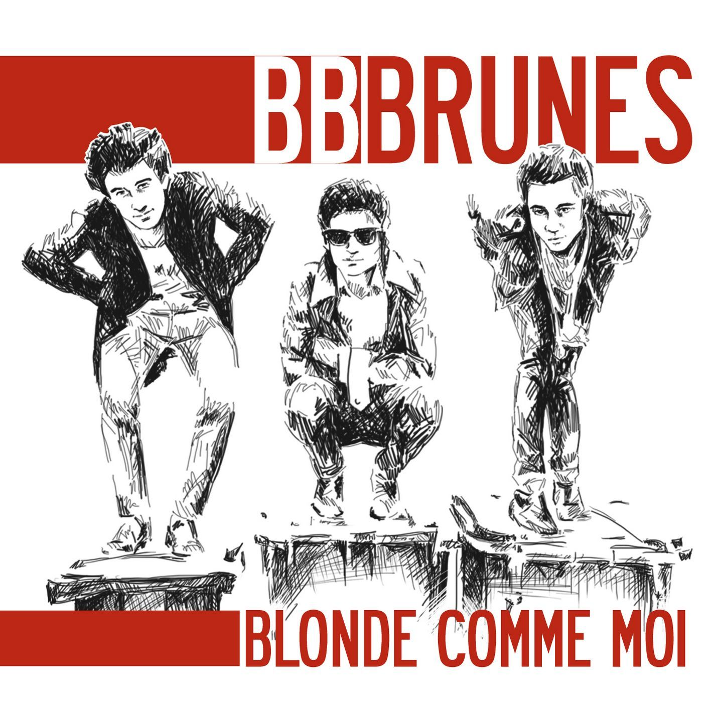 Bb Brunes - Blonde Comme Moi album cover