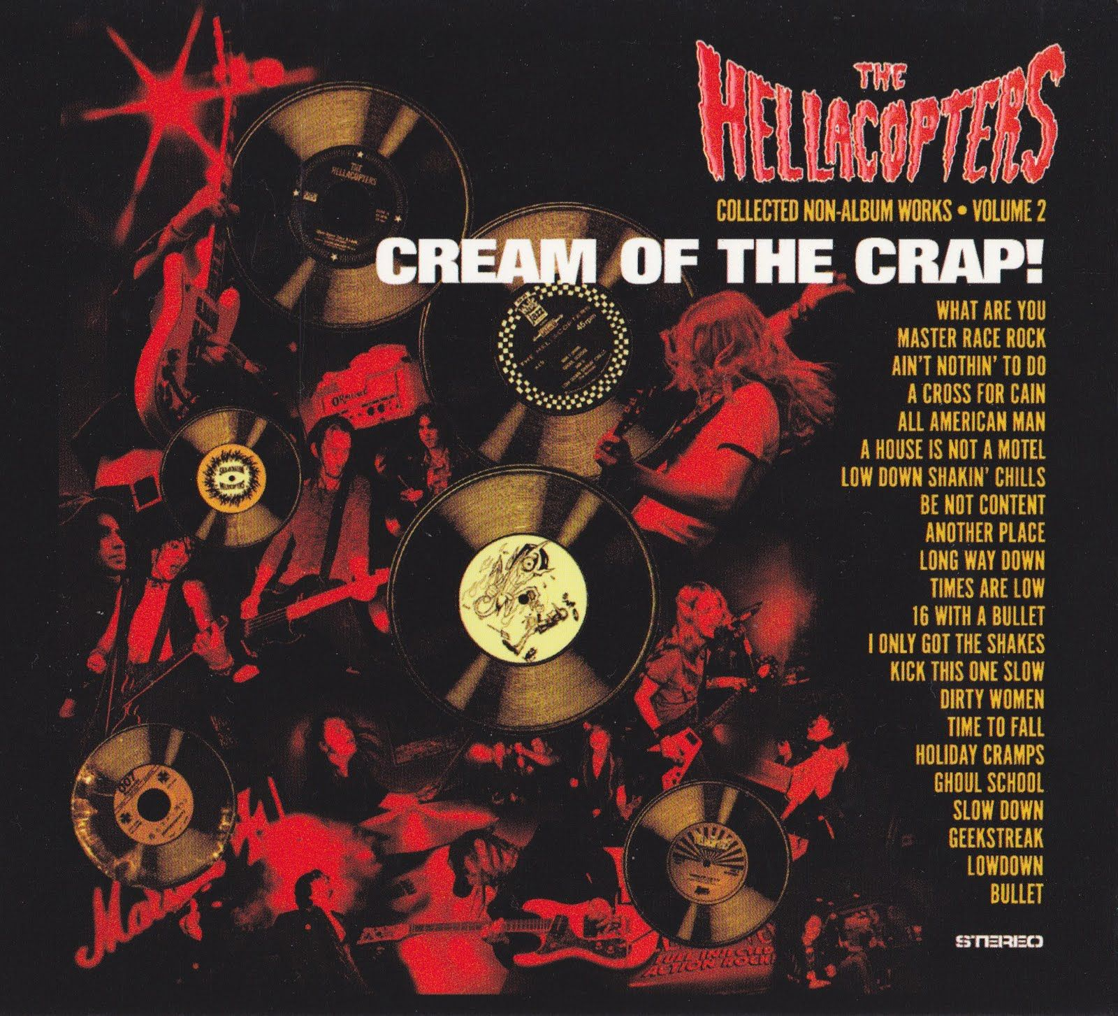 The Hellacopters - Cream Of The Crap Ii album cover