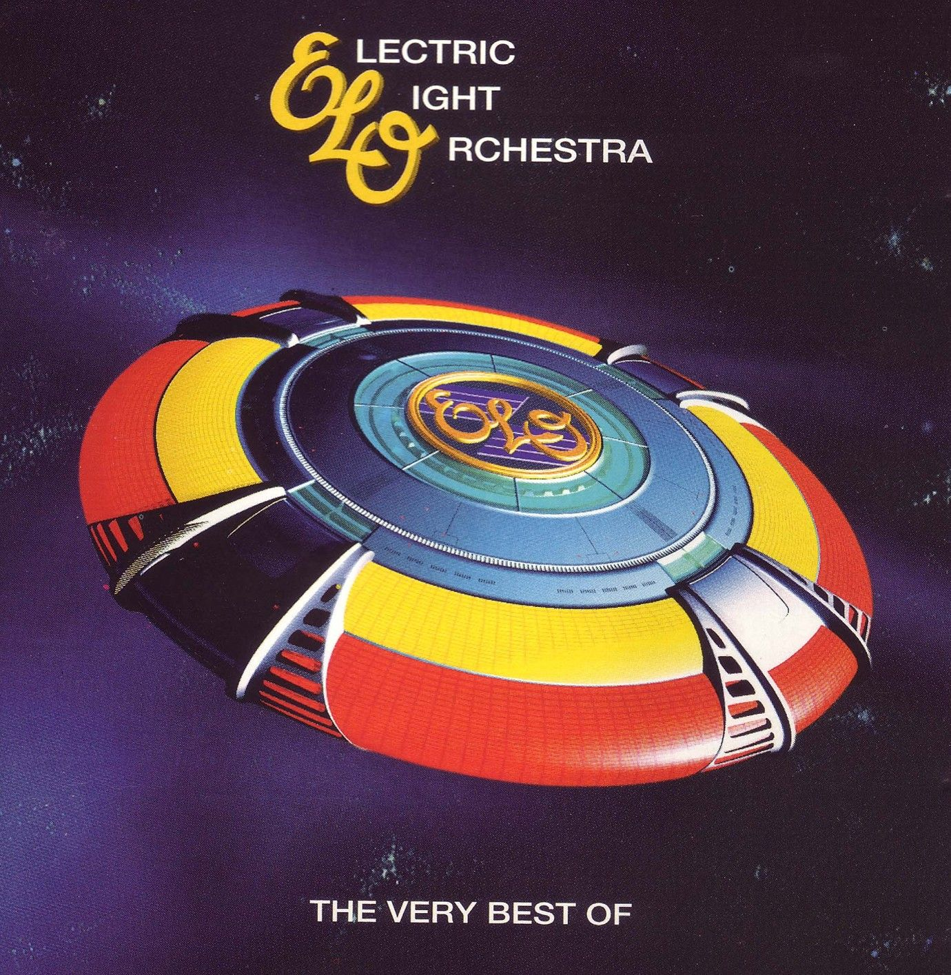 Electric Light Orchestra - The Very Best Of - All Over The World album cover