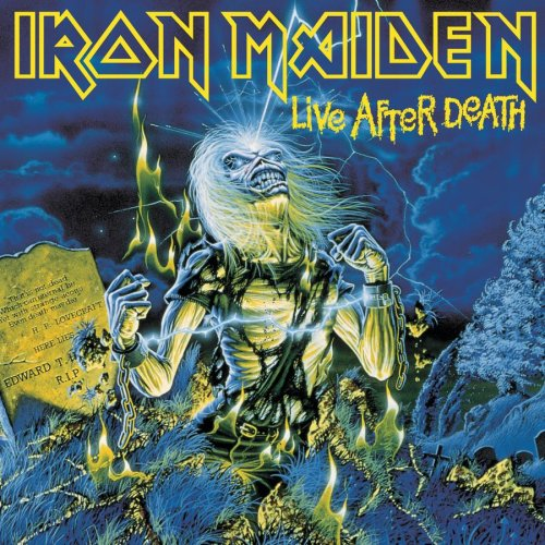 Iron Maiden - Live After Death album cover