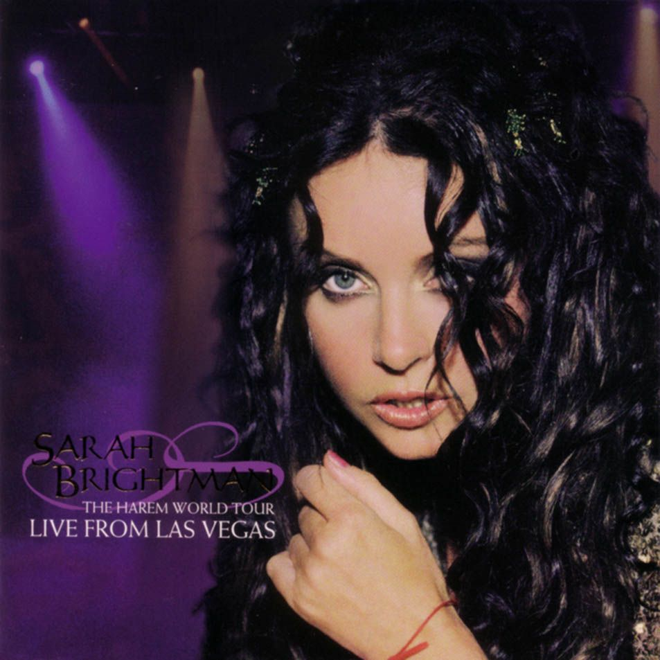 Sarah Brightman - The Harem World Tour: Live From Las Vegas album cover