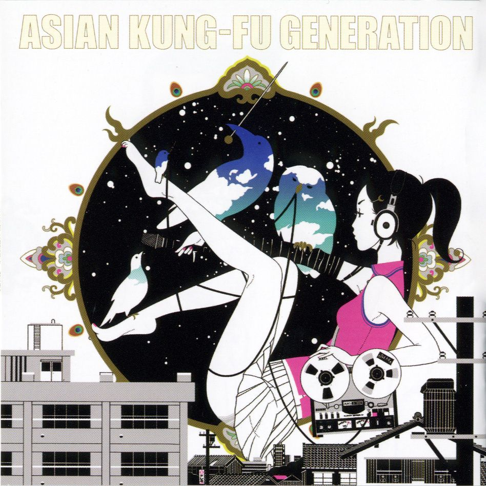 Asian Kung-fu Generation - Sol-fa album cover
