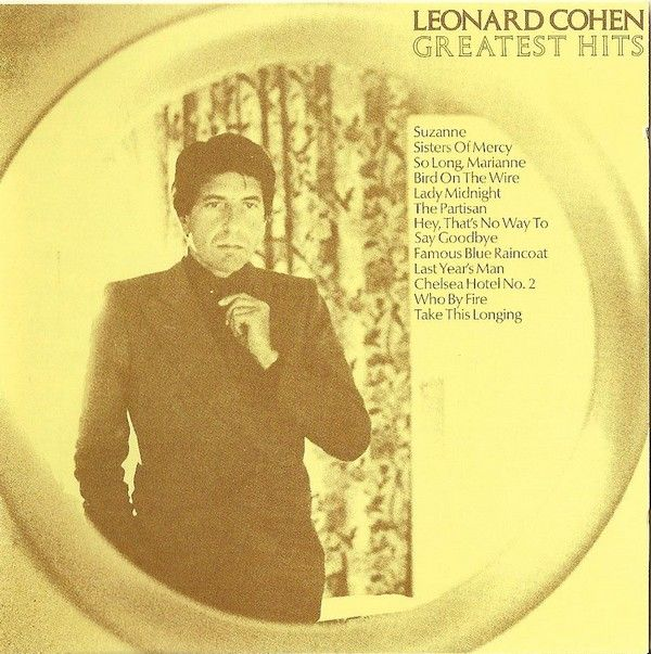 Leonard Cohen - Greatest Hits album cover