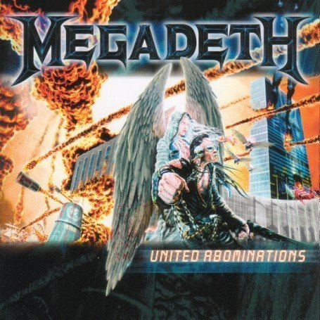 Megadeth - United Abominations album cover