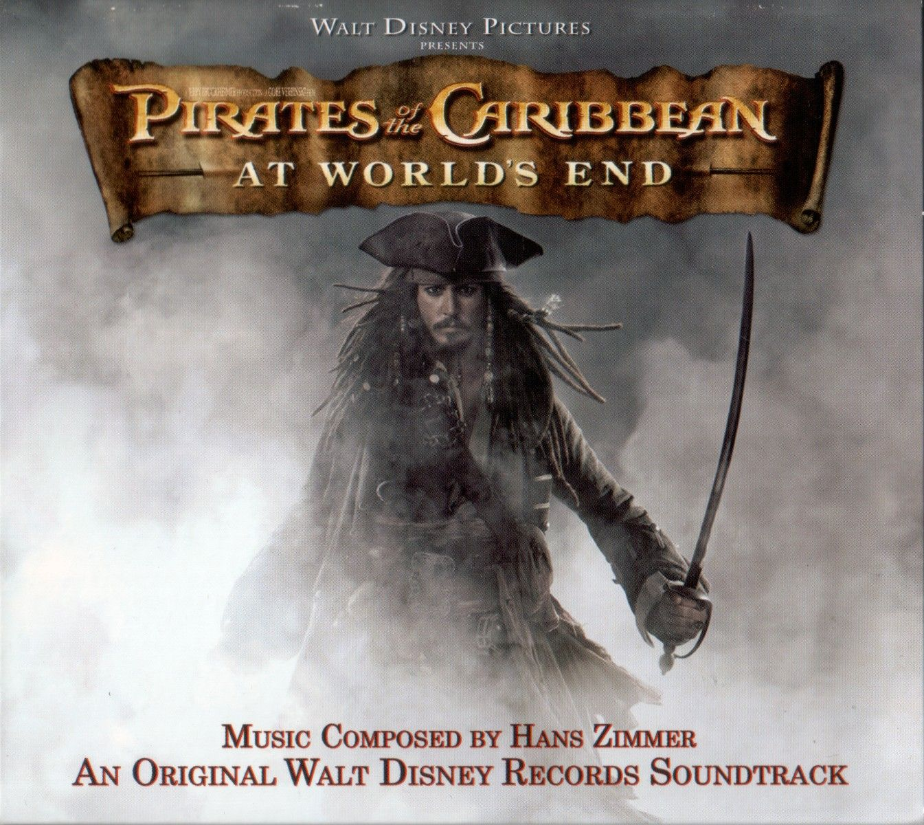 Soundtrack - Pirates Of The Caribbean: At World's End album cover