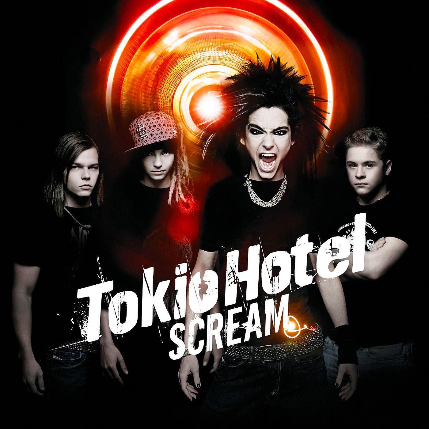 Tokio Hotel - Scream album cover