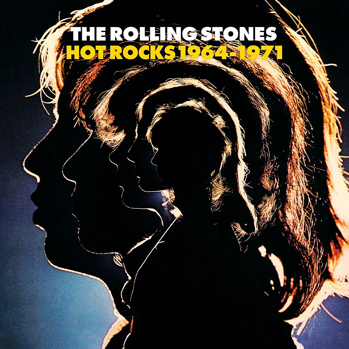 The Rolling Stones - Hot Rocks 1964-1971 album cover